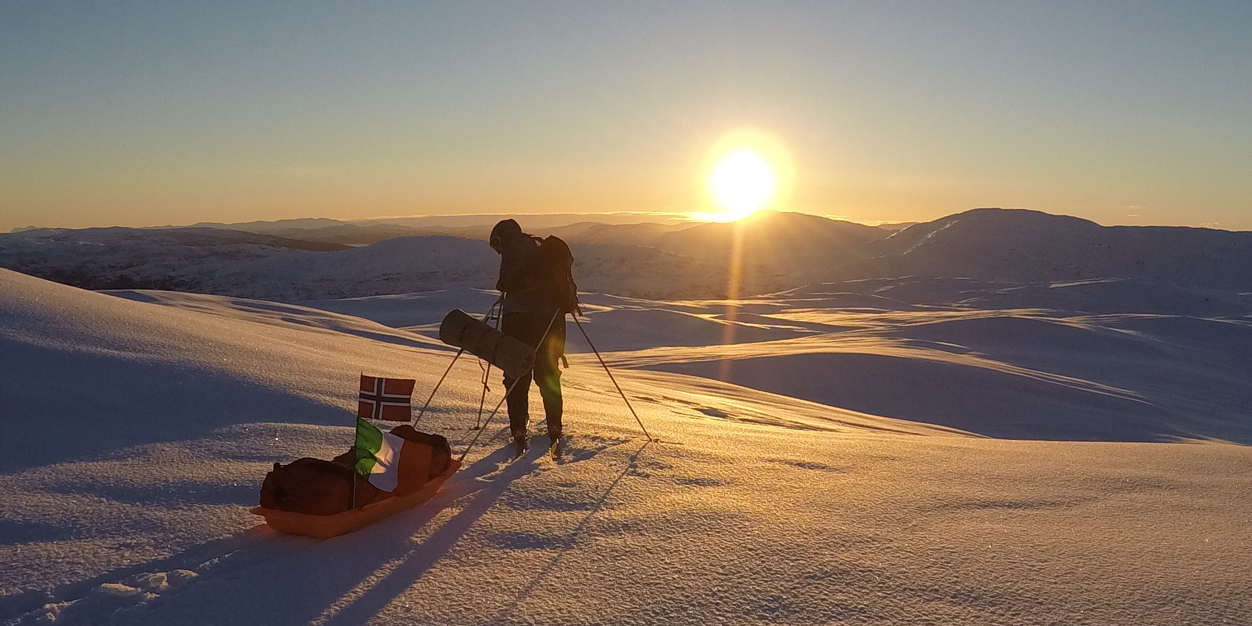 3 days winter camping on Steinfjellet